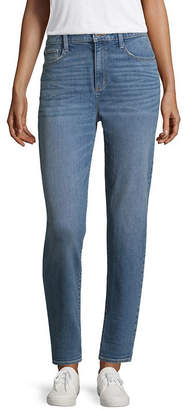 Arizona Brooklyn - Top Pick High-Rise Mom Jeans-Juniors
