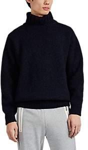 Devold Norway 1853 Men's Nansen Wool Turtleneck Sweater - Navy