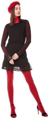 Juicy Couture Jxjc Drop Waist Bell Sleeve Mesh Dress