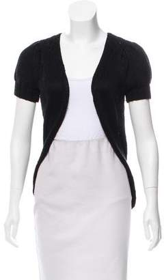 Mayle Open-Front Short Sleeve Cardigan
