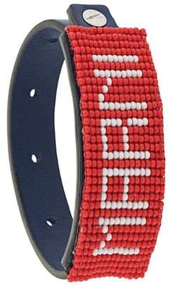 Marni adjustable logo bracelet