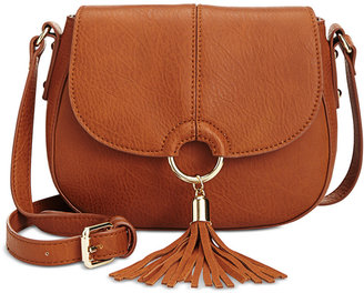 INC International Concepts Emerson Saddle Bag, Only at Macy's $59.50 thestylecure.com