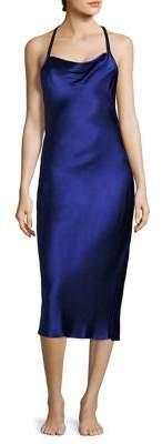 Fleur du Mal Bias Silk Slip Dress