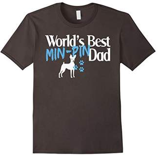 MiN New York Mens Pin T Shirt Gift for Pin Dad Dog Owners