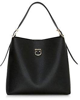 Furla Women's Medium Belvedere Leather Hobo Bag
