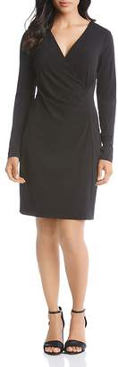 Karen Kane Faux-Wrap Dress