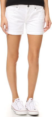 True Religion Emma Bermuda Shorts $149 thestylecure.com
