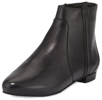 Delman Wiley Leather Ankle Boot, Black $398 thestylecure.com