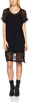 Liebeskind Berlin Women's W1172300 Dress, (Black 9999), 6