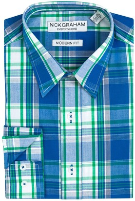 Nick Graham Men's Everywhere Modern-Fit Dress Shirt