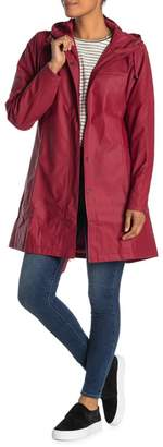 Rains Waterproof Hooded Insulated Zip Parka