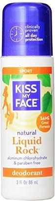 Kiss My Face Liquid Rock Deodorant Roll-On