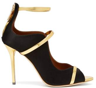 Malone Souliers By Roy Luwolt - Mika Satin Pumps - Womens - Black Gold