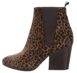 The Kooples Leopard Pointed-Toe Boots