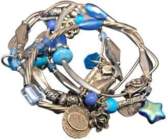 Gas Jeans Silver Metal Bracelet