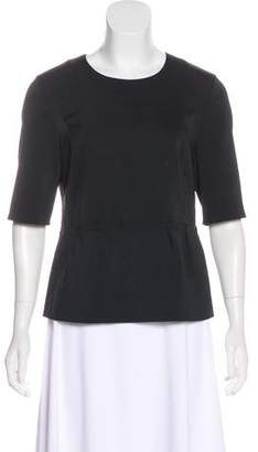 J Brand Short Sleeve Peplum Top