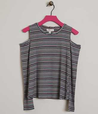 Girls - Fire Striped Top $29.95 thestylecure.com