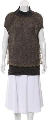 Yigal Azrouel Sleeveless Lace Top
