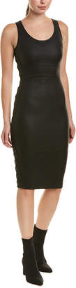 Diane von Furstenberg AS by As By Dita Leather Sheath Dress