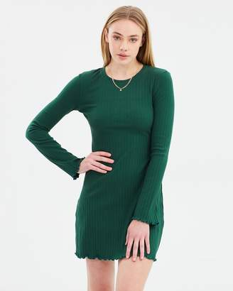 All About Eve Carly Long Sleeve Dress