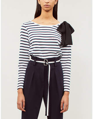 Claudie Pierlot Tipi Sailor striped knitted top