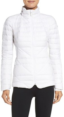 Women's The North Face Lucia Hybrid Down Jacket $199 thestylecure.com