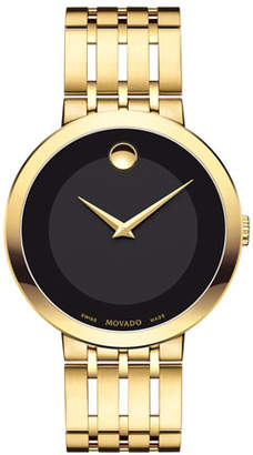 Movado 39mm Esperanza Watch, Gold