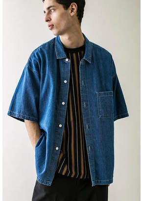 Monkey Time (モンキー タイム) - [monkey time] DENIM WIDE 6SL SHIRT/シャツ