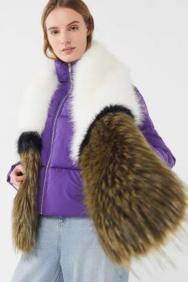 Urban Outfitters Faux Fur Stole Scarf