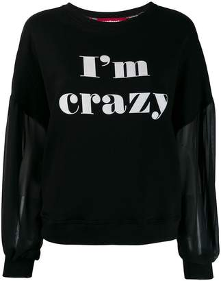 Guardaroba I'm Crazy sweatshirt