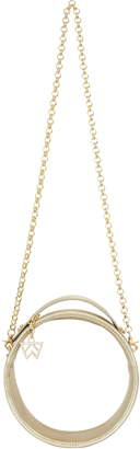 clear KELLY WYNNE Halo Crossbody Bag