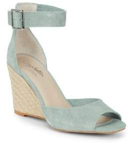Seychelles Leather Wedge Espadrilles