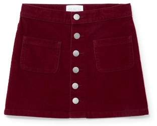 Children's Place The Corduroy Button Front Skirt