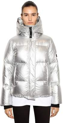 Kenzo Metallic Nylon Down Jacket