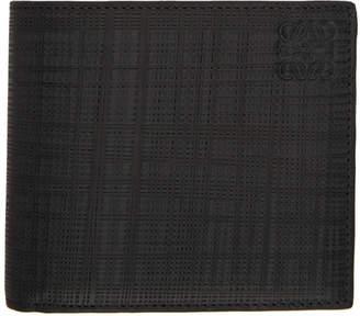 Loewe Grey Textured Wallet