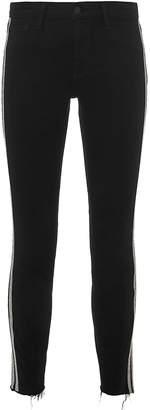 L'Agence Margot Sequin Stripe Jeans