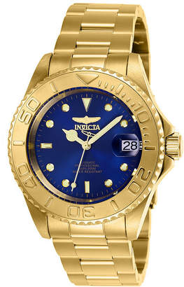 Invicta Pro Diver Mens Gold Tone Bracelet Watch-26997