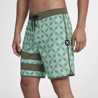 "Hurley Phantom Block Party Drum Circle Men's 18"" Board Shorts"