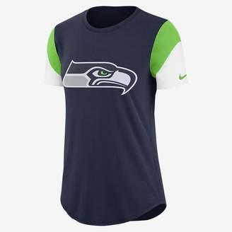 Nike Team Fan (NFL Seahawks) Women's Tri-Blend T-Shirt