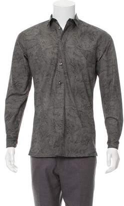 Bottega Veneta Printed Button-Up Shirt