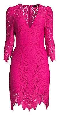 55f99a3e131d Nanette Lepore Women's Late Night Lace Sheath Dress