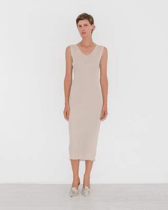 LAUREN MANOOGIAN Hessian Accordion Dress