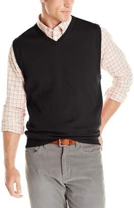 Cutter & Buck Men's Douglas V-Neck Sweater Vest