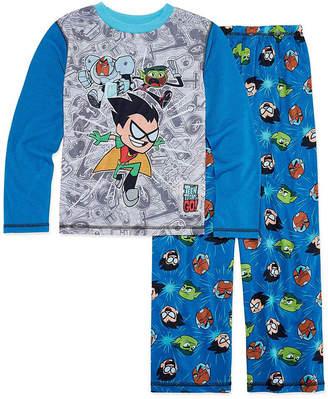 LICENSED PROPERTIES 2-pc. Kids Teen Titans Pajama Set Boys Husky