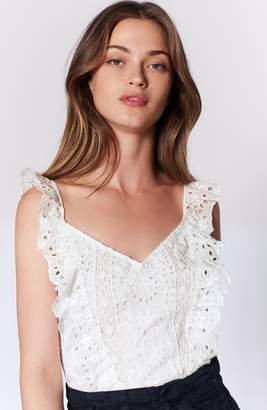 Joie Captina Lace Top