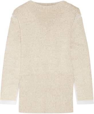 Marni (マルニ) - マルニ オーガンザトリム ニット セーター
