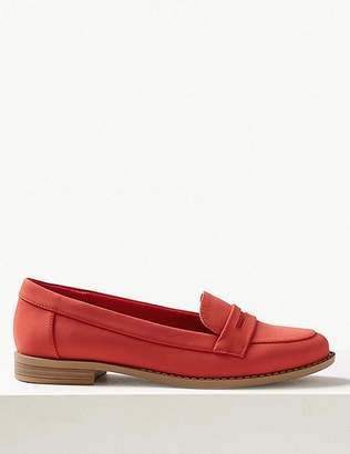 Marks and Spencer Extra Wide Fit Penny Loafers