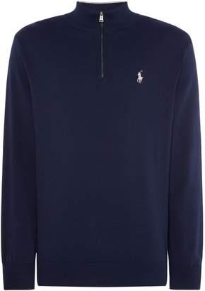 Polo Ralph Lauren Men's Golf Half Zipped Pima Cotton Knit