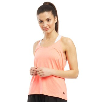 Under Armour Womens Fashion Strappy Tank Pink