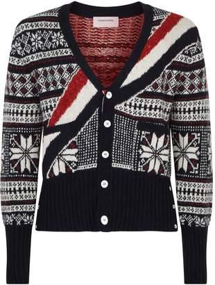 Thom Browne Winter Knit Cardigan